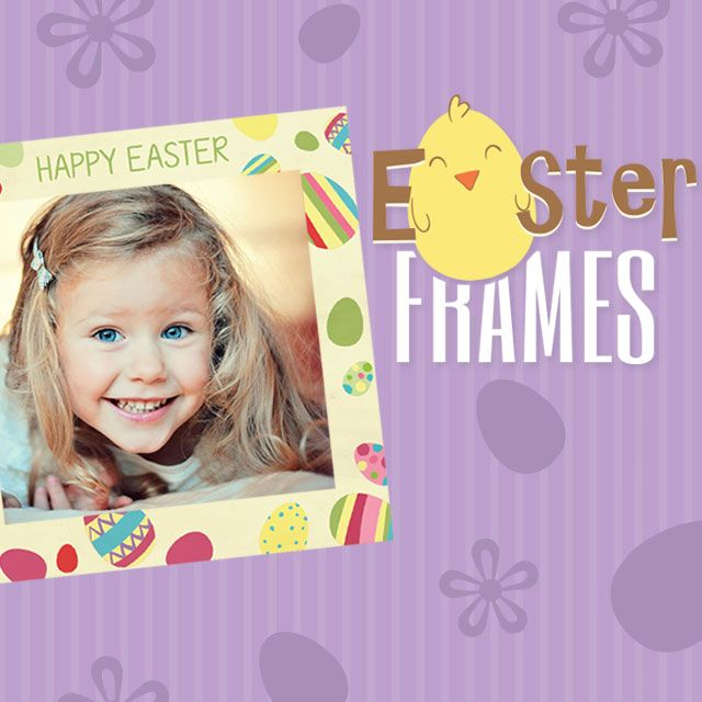 photo editing Easter frames