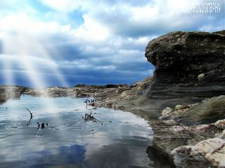 photography rock pools nature cornwall landscapes