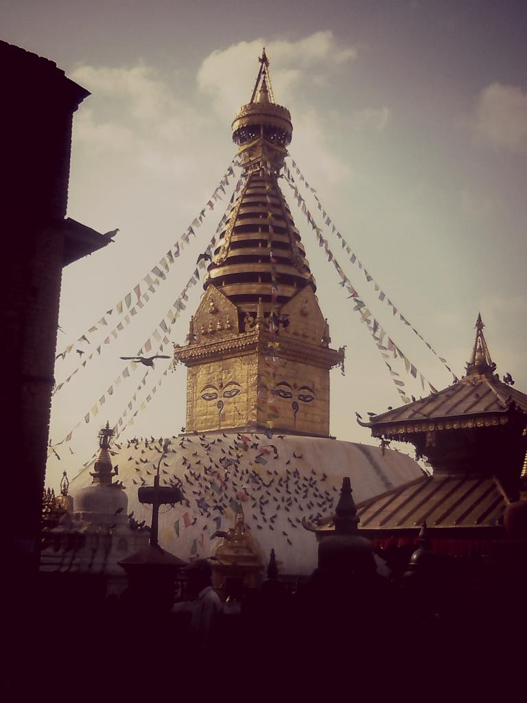 "Swayambhunath ""The Monkey Temple"""