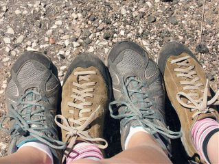 shoes travel friend photography