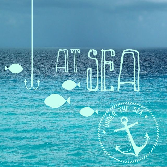 at sea clipart package