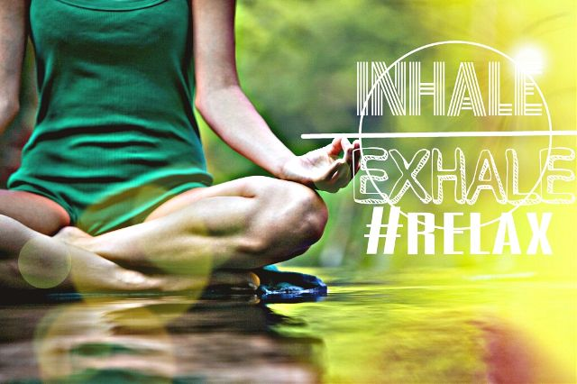yoga class poster graphic design contest