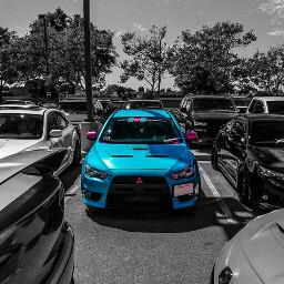 photography evo cars catmeat