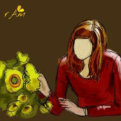 amy pond dcsunflowers drawings doctor who flower