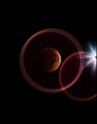 #bloodmoon /,,/ Behold Change is Coming/,,/ #colorful #emotions #photography little edit....neon and lens flare
