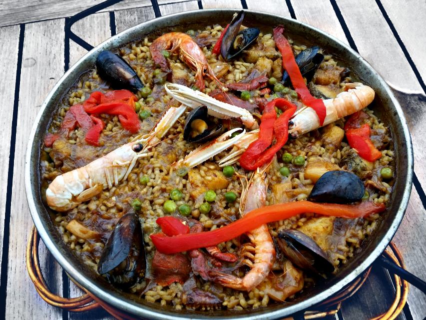 Seafood Paella #yummyfood #food