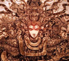 nepal shiva religion art