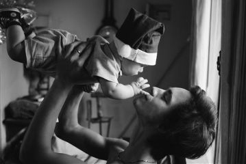 people emotions photography baby blackandwhite