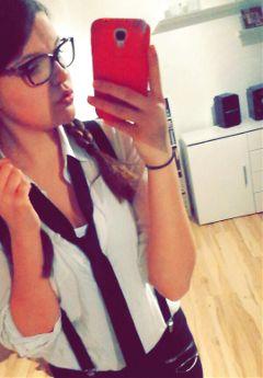 nerdy freetoedit girl
