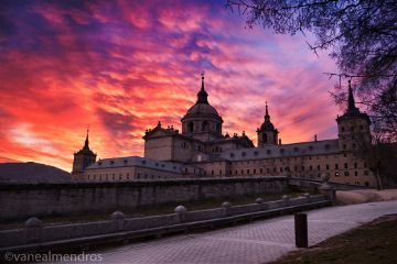 sunset madrid spain photography architecture
