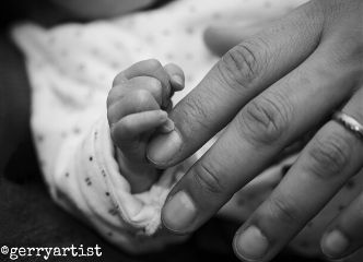 blackandwhite babies hands cute love children