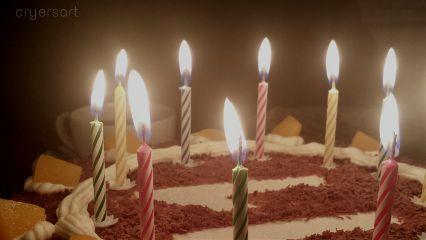 wish food candel delicious